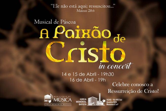 A Paixão de Cristo in concert